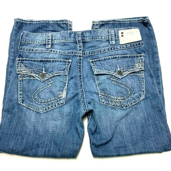 Silver Jeans Other - Silver Zac Flap Jeans Men's Size 36×30 Distressed